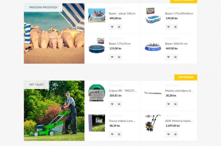 Žuti klik spletna trgovina